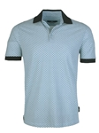 Mint Honeycomb Pique Short Sleeve Polo | Stone  Rose New Arrivals | Sams Tailoring Fine Men Clothing