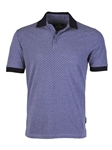 Purple Honeycomb Pique Short Sleeve Polo | Stone  Rose New Arrivals | Sams Tailoring Fine Men Clothing