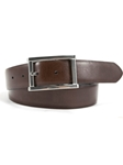 Black/Brown The Aldo Italian Hand Finished Belt | Bill Lavin Spring 2017 Collection  | Sam's Tailoring