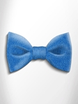 Turquoise Shades Patterned Silk Bow Tie | Italo Ferretti Spring Summer Collection | Sam's Tailoring