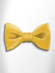 Yellow Shades Patterned Silk Bow Tie | Italo Ferretti Spring Summer Collection | Sam's Tailoring
