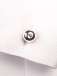 Bar Bell Round Dream Cufflink | Robert Talbott Spring 2017 Collection | Sam's Tailoring