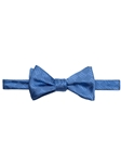 Blue Solid Satin Best of Class Bow Tie | Robert Talbott Formal Wear   | Sam's Tailoring
