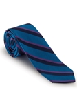 Blue and Purple Stripe Corporate Best of Class Tie | Robert Talbott Spring 2017 Collection | Sam's Tailoring