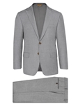 Dove Grey Beacon Tasmanian Suit   | Hickey Freeman Tasmanian Collection | Sam's Tailoring