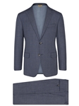 Blue Plaid Super 150's Tasmanian Suit | Hickey Freeman Tasmanian Collection | Sam's Tailoring