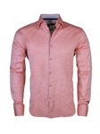 Coral Dobby Linen Long Sleeve Shirt | Stone  Rose New Arrivals | Sams Tailoring Fine Men Clothing