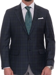 Navy and Green Windowpane Eastwood Sport Coat | Robert Talbott Spring 2017 Collection | Sam's Tailoring