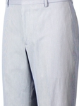 Blue and White Pincord Cotton Flat Front Pant | HardWick New Pants | Sams Tailoring Fine Men Clothing