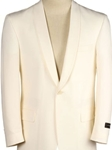 Ivory Wool Classic Fit with Cream Satin Shawl Collar Dinner Jacket  | Hardwick Dinner Jacket Collection | Sam's Tailoring Fine Men Clothing