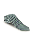 Blue, White and Green Stripe Academy Best of Class Tie | Spring/Summer Collection | Sam's Tailoring Fine Men Clothing