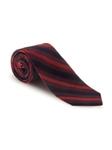 Black and Red Stripe Boardroom Best of Class Tie | Spring/Summer Collection | Sam's Tailoring Fine Men Clothing