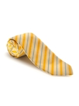 Yellow and Blue Stripe on Light Yellow Best of Class Tie | Spring/Summer Collection | Sam's Tailoring Fine Men Clothing