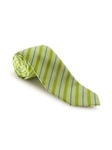 Green and Blue Stripe on Green Seasonal Best of Class Tie | Spring/Summer Collection | Sam's Tailoring Fine Men Clothing