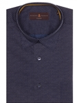 Navy With Dots Anderson II Classic Fit Sport Shirt | Robert Talbott Fall 2017 Collection  | Sam's Tailoring Fine Men Clothing