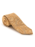 Gold, Yellow and Grey Paisley Best of Class Tie | Fall Ties Collection | Sam's Tailoring Fine Men Clothing