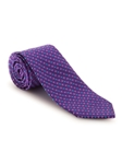 Purple and Blue Geometric Best of Class Tie | Fall Ties Collection | Sam's Tailoring Fine Men Clothing
