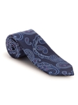 Navy, Blue and Purple Paisley Best of Class Tie | Fall Ties Collection | Sam's Tailoring Fine Men Clothing