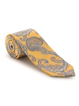 Yellow, Blue and Orange Paisley Best of Class Tie | Fall Ties Collection | Sam's Tailoring Fine Men Clothing