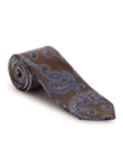 Brown, Blue and Pink Paisley Best of Class Tie | Fall Ties Collection | Sam's Tailoring Fine Men Clothing