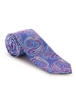 Purple, Blue and Magenta Paisley Best of Class Tie | Fall Ties Collection | Sam's Tailoring Fine Men Clothing