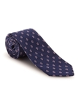 Navy, White and Pink Pine Best of Class Tie | Fall Ties Collection | Sam's Tailoring Fine Men Clothing