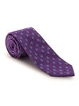 Purple, White and Blue Pine Best of Class Tie | Fall Ties Collection | Sam's Tailoring Fine Men Clothing