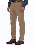 Khaki Seaside Tailored Fit Trouser | Robert Talbott Fall Collection | Sam's Tailoring Fine Men's Clothing