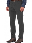 Charcoal Seaside Tailored Fit Trouser | Robert Talbott Fall Collection | Sam's Tailoring Fine Men's Clothing