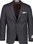 Grey Modern Fit Tweed Wool Sport Coat | Hardwick Sport Coat Collection | Sams Tailoring Fine Men Clothing