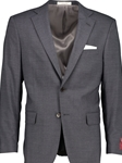 Grey Classic Fit H-Tech Wool Suit Separate Jacket | Hardwick Suits & Separate Jackets Collection | Sams Tailoring Fine Men Clothing