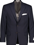 Navy Pinstripe Classic Fit H-Tech Wool Suit Separate Jacket | Hardwick Suits & Separate Jackets Collection | Sams Tailoring Fine Men Clothing
