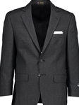Charcoal Classic Fit Wool Traveler Suit Separate Jacket | Hardwick Suits & Separate Jackets Collection | Sams Tailoring Fine Men Clothing