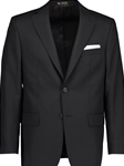 Black Classic Fit Wool Traveler Suit Separate Jacket | Hardwick Suits & Separate Jackets Collection | Sams Tailoring Fine Men Clothing