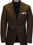 Brown Herringbone Tweed Wool Sport Coat | Hardwick Sport Coat Collection | Sams Tailoring Fine Men Clothing