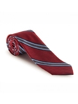 Red and Blue Stripe Best of Class Tie | Best of Class Ties Collection | Sam's Tailoring Fine Men Clothing