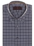 Lavender Check Anderson II Classic Fit Sport Shirt | Robert Talbott Sport Shirts Collection  | Sam's Tailoring Fine Men Clothing