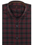 Red, Navy, Green and Yellow Plaid Marcus Sport Shirt | Robert Talbott Sport Shirts Collection  | Sam's Tailoring Fine Men Clothing