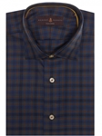 Blue, Green and Red Plaid Crespi IV Tailored Sport Shirt | Robert Talbott Sport Shirts Collection  | Sam's Tailoring Fine Men Clothing