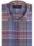 Multi Color Plaid Crespi IV Tailored Sport Shirt | Robert Talbott Sport Shirts Collection  | Sam's Tailoring Fine Men Clothing