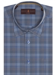 Blue Plaid Anderson II Classic Sport Shirt | Robert Talbott Sport Shirts Collection  | Sam's Tailoring Fine Men Clothing