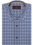 Blue, White and Navy Plaid Anderson II Sport Shirt | Robert Talbott Sport Shirts Collection  | Sam's Tailoring Fine Men Clothing