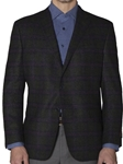 Hunter Boucle with Orchid and Navy Windowpane Sport Coat | Robert Talbott Fall Sports Coat  | Sams Tailoring