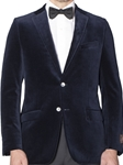 Midnight Navy Luxury Velvet Tehama Sport Coat | Robert Talbott Fall Sports Coat  | Sams Tailoring