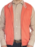 Coral Molera Cotton Full Zip Knit Vest | Robert Talbott Fall 2017 Collection | Sam's Tailoring Fine Mens Clothing