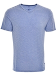 Blue Light Flame Knit V- Neck | Stone Rose New Arrivals | Sams Tailoring Fine Men Clothing