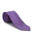 Sky and Purple Geometric Heritage Best of Class Tie  | Best of Class Ties Collection | Sam's Tailoring Fine Men Clothing