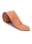 Orange and Lavender Geometric Heritage Best of Class Tie | Best of Class Ties Collection | Sam's Tailoring Fine Men Clothing