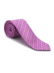 Pink, Sky and Gold Neat Heritage Best of Class Tie | Best of Class Ties Collection | Sam's Tailoring Fine Men Clothing