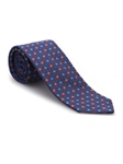 Navy, Red, Sky & Gold Neat Heritage Best of Class Tie | Best of Class Ties Collection | Sam's Tailoring Fine Men Clothing